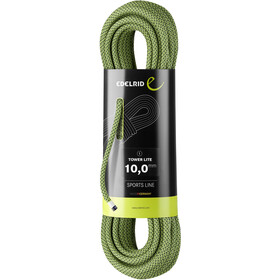 Edelrid Tower Lite Cuerda 10,0mm 50m, oasis night
